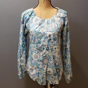 Calypso floral blouse xs